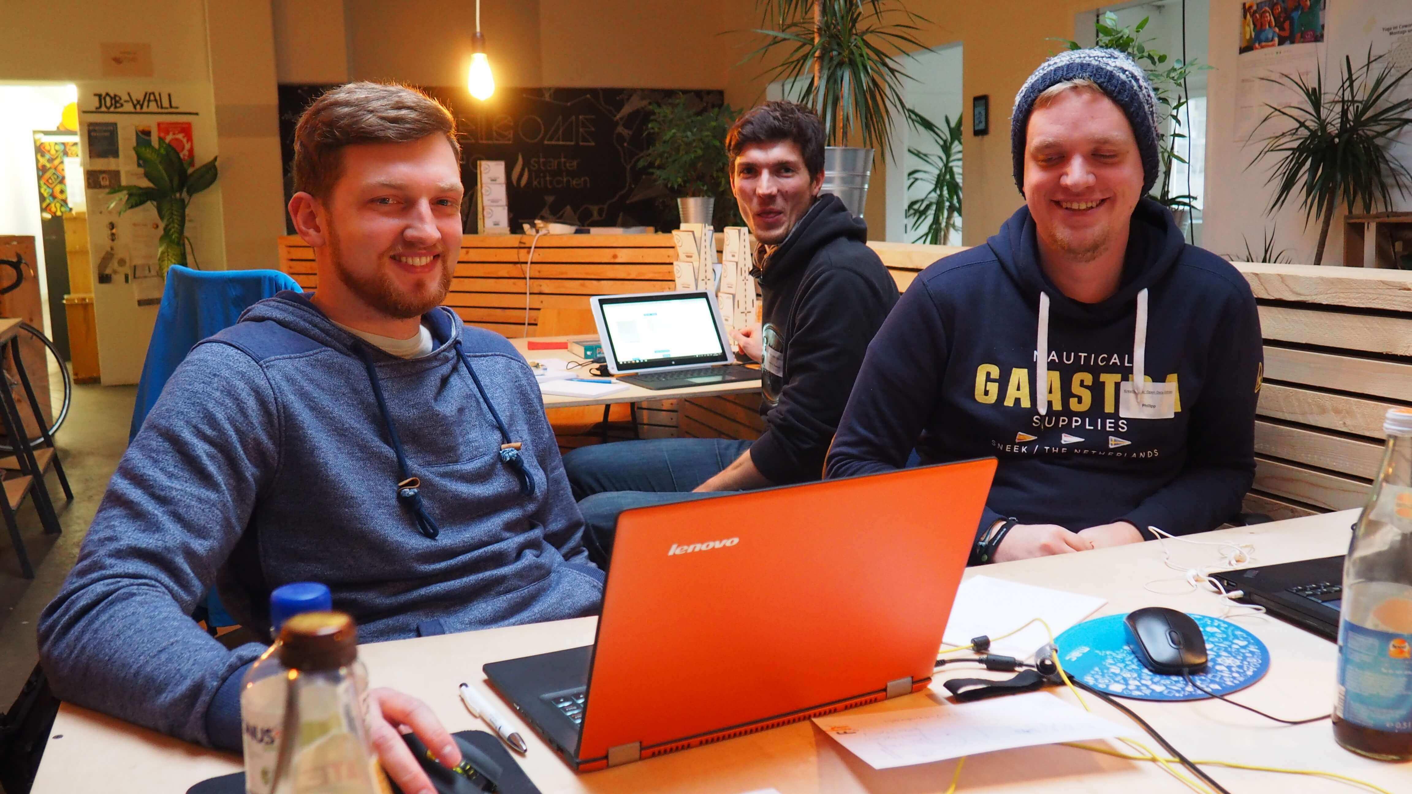 Hackathon: Zu Besuch beim KreativHack 2016