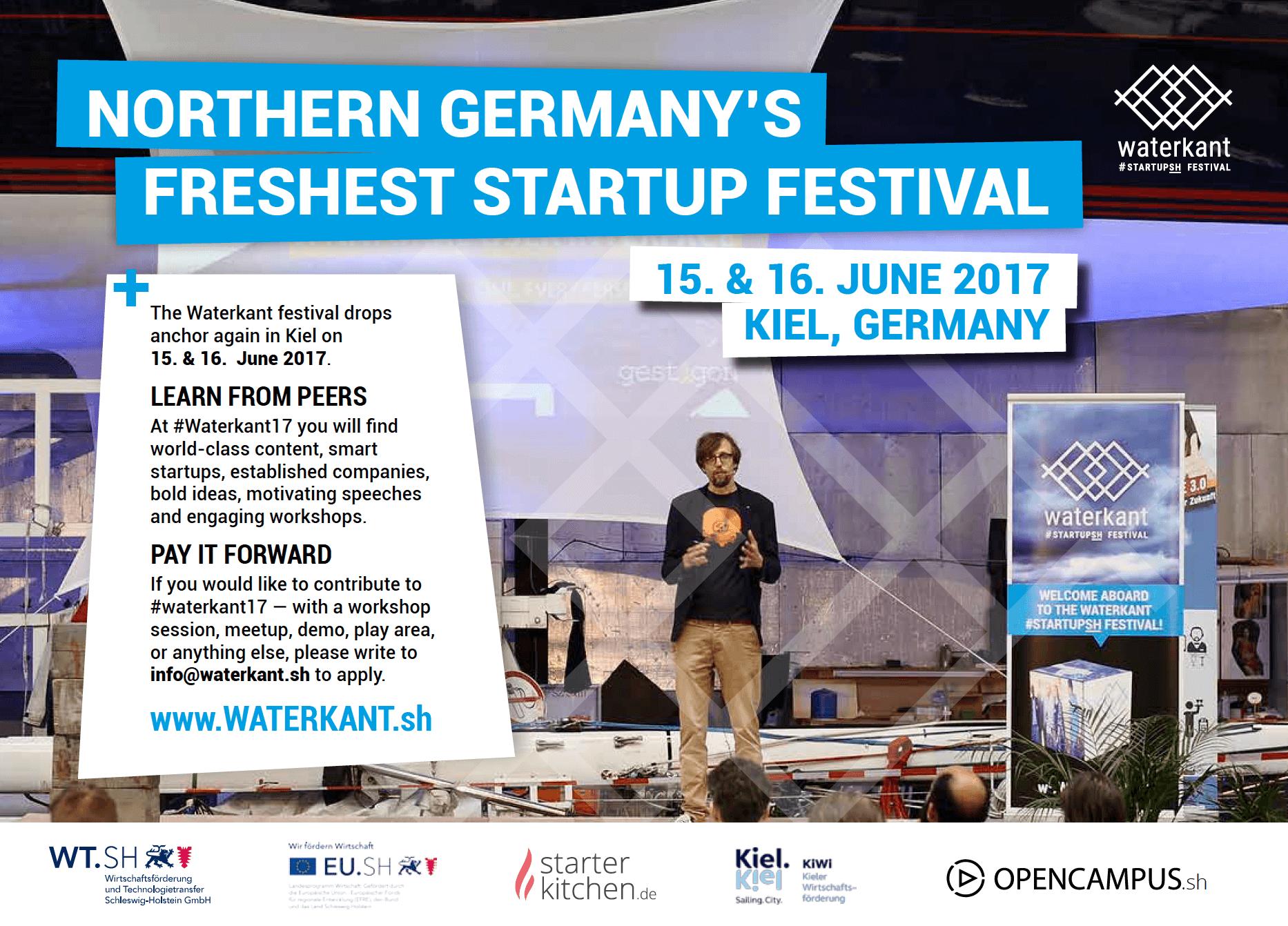Waterkant #startupSH Festival 2017