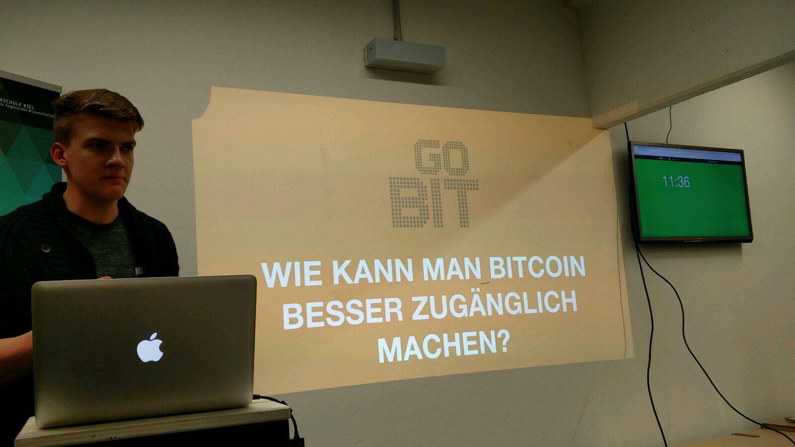 GoBit: Wie man Bitcoins besser zugänglich machen kann