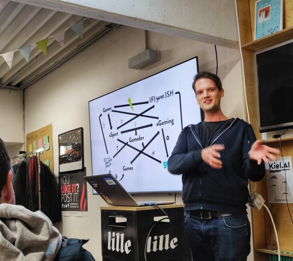 Jens Bahr erklärt die Welt der Games