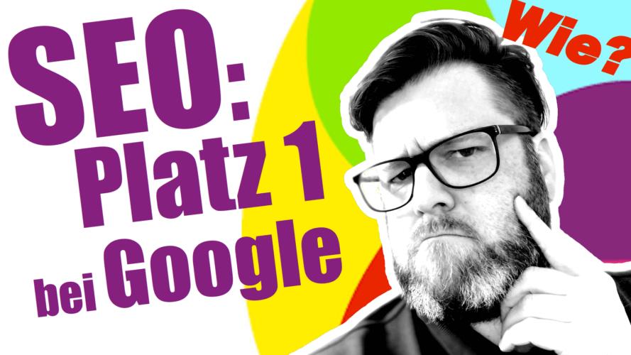 Wie wird meine Website bei Google gefunden?